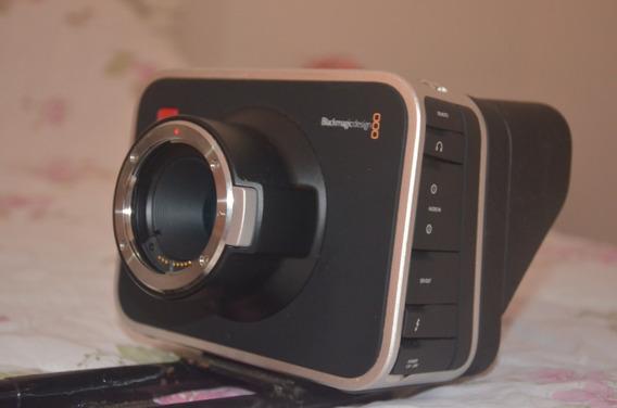 Blackmagic Câmera Cinema 2.5k + Lente Canon + Mattebox