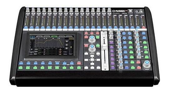 Mesa De Som Digital Ashly Digi Mix24 24 Canais Top