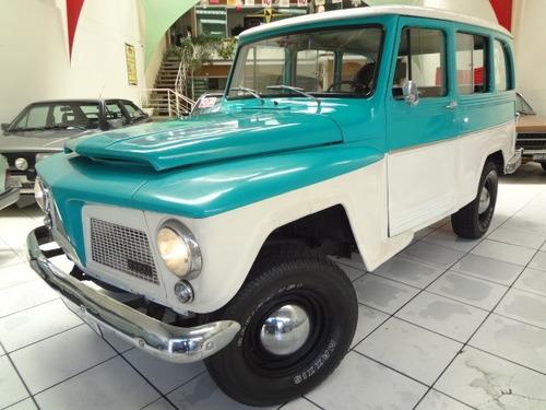 Ford Rural 1973 6cc 4x2 Gasolina * Câmbio Em Baixo
