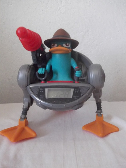 Phineas Y Pherb Reloj Despertador Figura De Perry