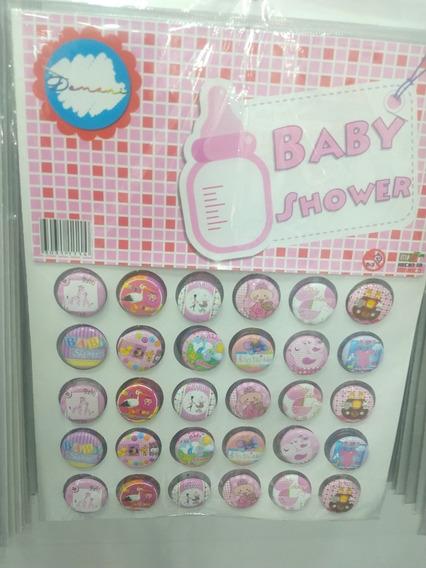 Fotobotones/botones/pines Baby Shower. 2cm. 30 Pz.
