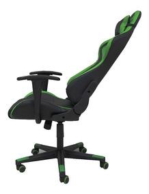Cadeira Gamer Dazz Prime Green Giratoria Reclinavel