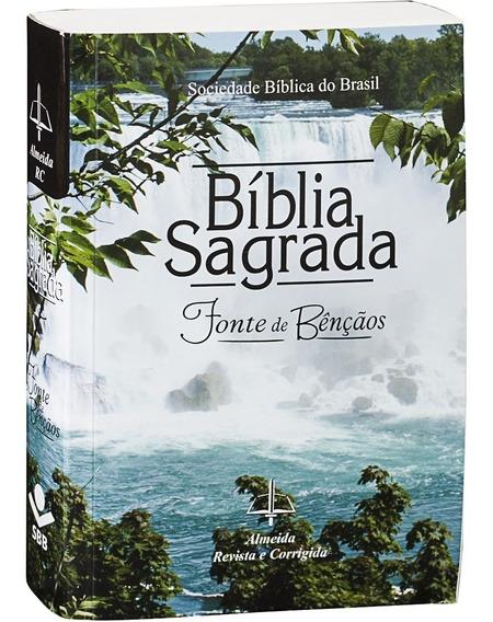 Bíblia Sagrada Fonte De Bençãos - Cachoeira Grande