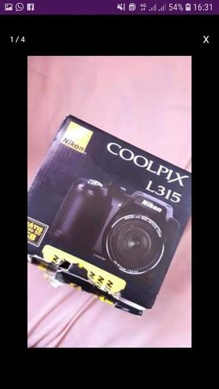 Câmera Fotográfica Nikon Semi Profissional L315