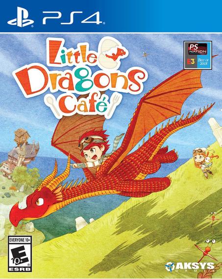 Jogo Lacrado Midia Fisica Little Dragons Cafe Para Ps4
