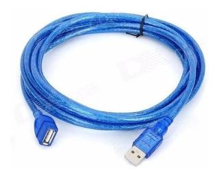Alargue Extensor Usb 3 Metros Mts 2.0 Cable Prolongador