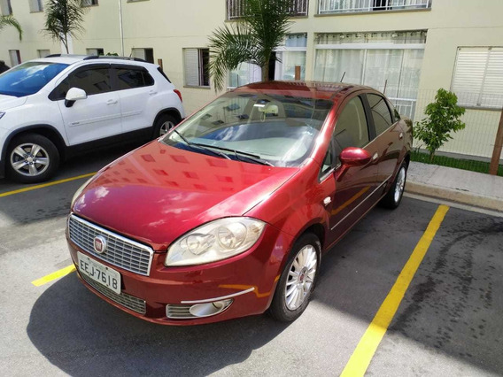 Fiat Linea 2009 1.9 16v Absolute Flex Dualogic 4p