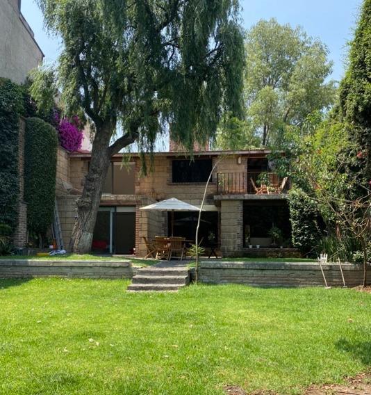 Nabor Carrillo, Hermosa Casa En Venta Con Espectacular Jardín