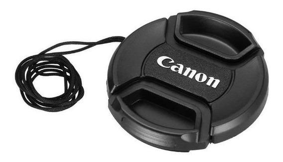 Tampa Para Lente Canon Rosca De 52mm Com Logo Canon