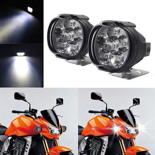 Halogenos Led Moto Motocicleta Cuadraciclo Auto