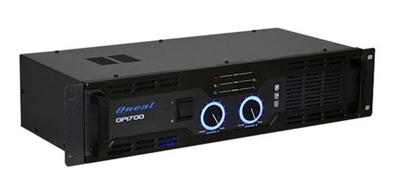Amplificador De Som Ambiente Oneal Op1700 80 Wrms 110v Preto