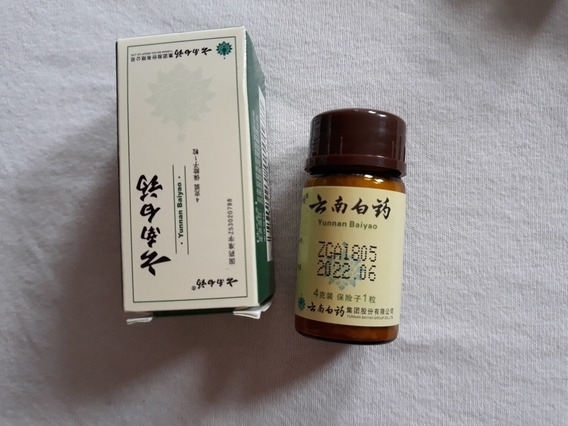 1 Frasco De Yunnan Baiyao