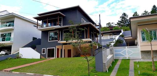 Imagem 1 de 30 de Casa Com 4 Dormitórios, 430 M² - Venda Por R$ 1.450.000,00 Ou Aluguel Por R$ 7.290,00/mês - Parque Das Artes - Embu Das Artes/sp - Ca17564