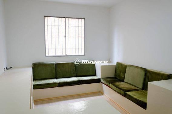 Apartamento Com 1 Dormitório Para Alugar, 48 M² Por R$ 800,00/mês - Macedo - Guarulhos/sp - Ap3195