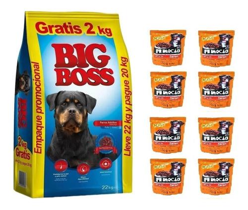 Imagen 1 de 1 de Big Boss Adulto 20k + 2k Gratis + 8 Sachets+envio Gratis