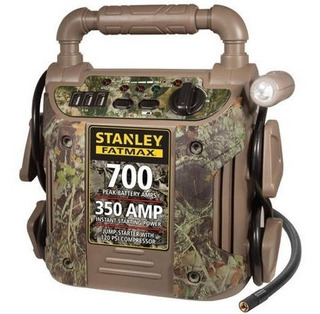 Arrancador De Bateria Stanley Fatmax/compresor De Aire/camo