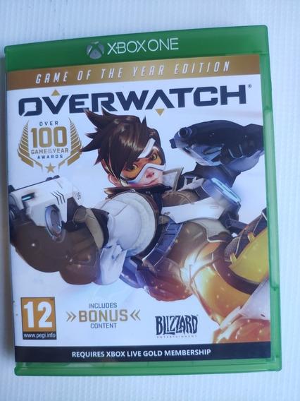 Overwatch Xbox One Midia Física Semi Novo