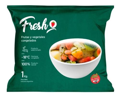 Imagen 1 de 6 de Mix Sopa De Vegetales Congelado Iqf Fresh X 1kg