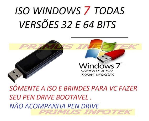 Iso Para Pen Drive Botavel Formatação Win 7 Todas Versões Br