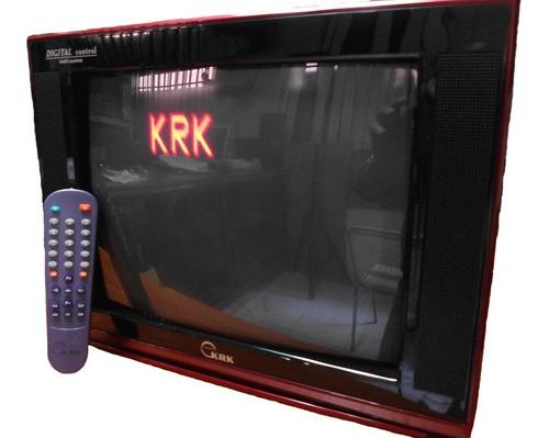 Televisor 14 PuLG Culon Control Remoto A Color Pant. Plana