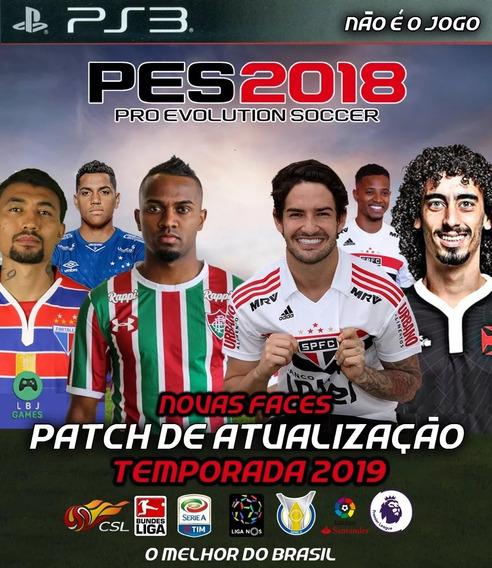 Patch(atualização) Pes 2018 Ps3 Maio