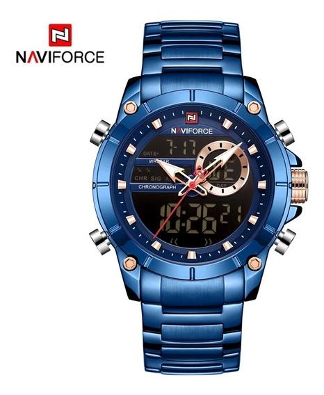 Relógio Masculino Top De Luxo Para Todas As Ocasiões