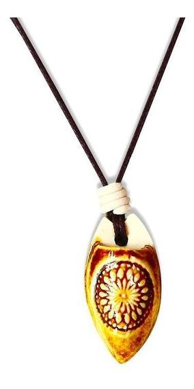 Colar Aromático Mandala Âmbar