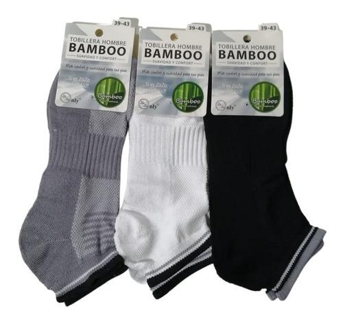 12 Tobilleras De Bamboo Para Hombre