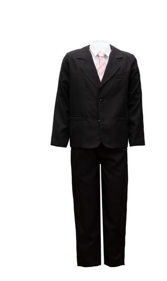 Terno Infantil Com Gravata E Camisa Tam. 2/16