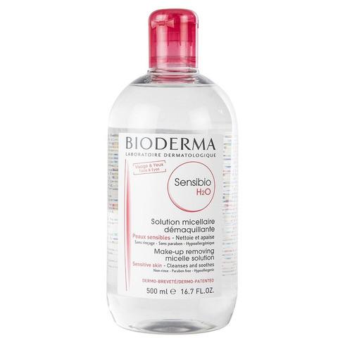 Agua micelar Bioderma Sensibio H2O para piel sensible, normal a mixta 500ml