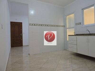 Apartamento Com 2 Dormitórios Para Alugar, 70 M² Por R$ 1.300 - Vila Pires - Santo André/sp - Ap1222