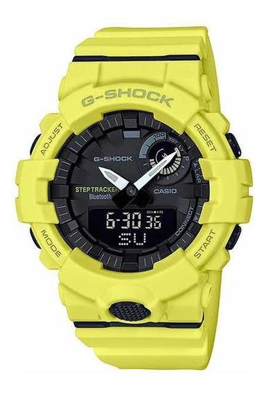 Relógio Casio G-shock Gba-800-9adr Bluetooth