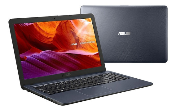 Notebook Asus X543ua-go3047t 15.6 Core I3 W10 4gb Ram Cinza