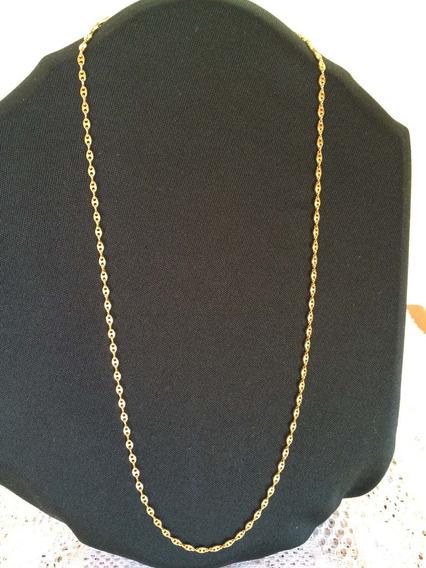 Cordão/colar Italiano - Monet - Banhado Ouro