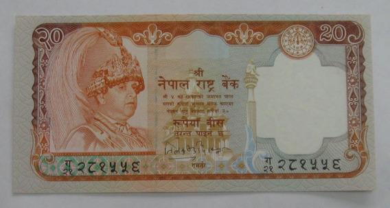 Nepal: Bela Cédula 20 Rupees 2002 Fe