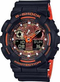 Relógio Masculino Casio G-shock Ga-100br-1 Lançamento