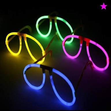 20 Lentes Cyalume Neon 20 Corbata Colores Neon 50 Diadema