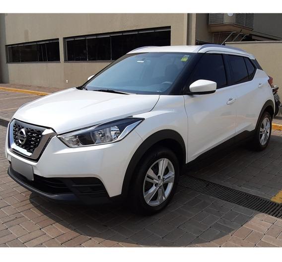Nissan Kicks S Cvt Automático 5 Portas Branco Pérola 2018