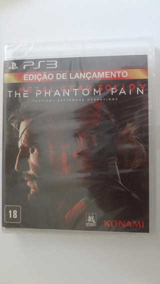 Metal Gear Solid V The Phantom Pain Ps3 - Novo E Lacrado