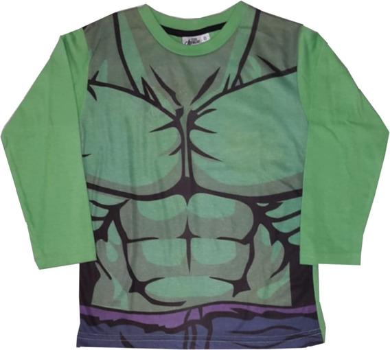 Remera Vengadores Capitan America Hulk Ironman #1 Mundomania