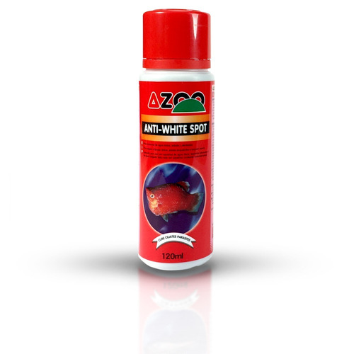 Azoo Anti-white Spot 120 Ml Acuario Dulce Marino Arrecife