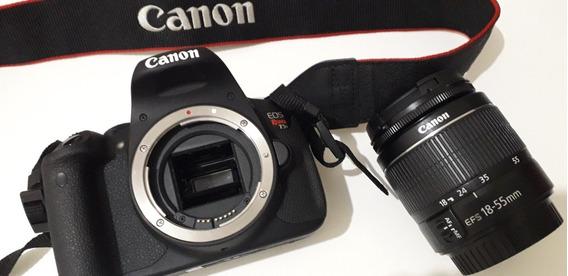 Camera Canon T5i Com Lente 18 55 Em Ótimo Estado