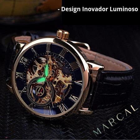 O Verdadeiro Relógio Mecânico De Luxo Classic 100% Original