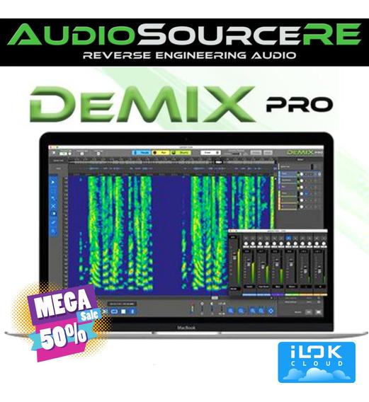 Demix Pro Audiosourcere (licença Ilok Cloud (original)