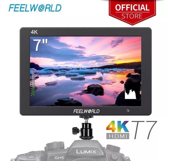 Monitor Profissional Original Feelworld T7 4k Pronta Entrega