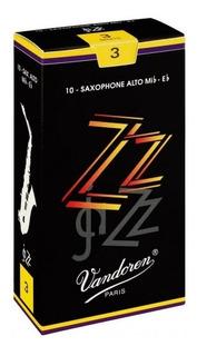 Cañas Para Saxofón Alto Jazz N3   Vandoren Sr413