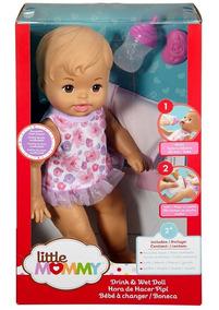 Boneca Bebê Baby Little Mommy Hora Faz Xixi - Mattel