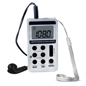 Hanrongda Hrd-103 Am Fm Rdio Digital 2 Banda Receptor