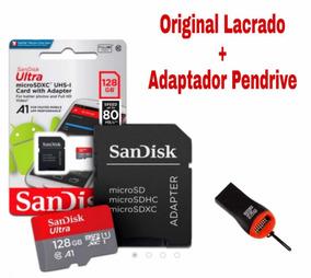 Cartão Sd Sandisk 128gb Classe 10 Ultra Original Lacrado