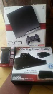 Playstation 3 500gb Full Accesorio Y Juegos Como Nuevo